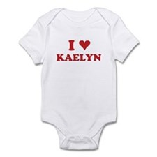 I LOVE KAELYN Infant Bodysuit