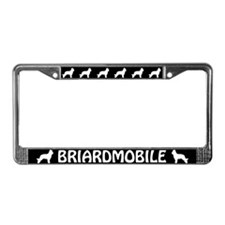 Briardmobile License Plate Frame