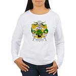 Montoro Family Crest  Women's Long Sleeve T-Shirt