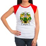 Montoro Family Crest  Women's Cap Sleeve T-Shirt