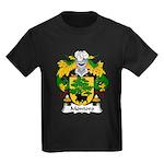 Montoro Family Crest  Kids Dark T-Shirt