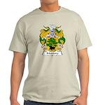 Montoro Family Crest  Light T-Shirt