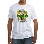 Montoro Family Crest  Fitted T-Shirt