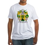 Miramonte Family Crest  Fitted T-Shirt