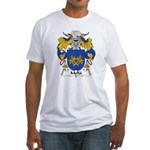 Melia Family Crest Fitted T-Shirt