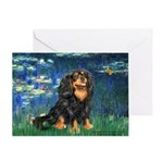 Lilies #5-Cavalier (BT) Greeting Card