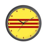 Vietnam 2 Wall Clock
