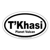 Planet Vulcan International Decal