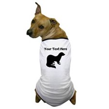 Ferret Silhouette Dog T-Shirt