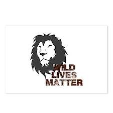 Wild Lives Matter Postcards (Package of 8)