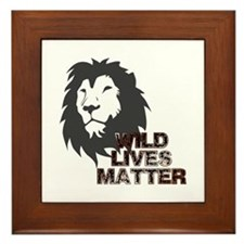 Wild Lives Matter Framed Tile