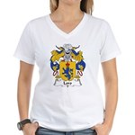 Loro Family Crest Women's V-Neck T-Shirt