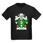 Lloves Family Crest Kids Dark T-Shirt