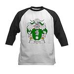 Lloves Family Crest Kids Baseball Jersey