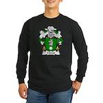 Lloves Family Crest Long Sleeve Dark T-Shirt
