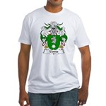 Lloves Family Crest Fitted T-Shirt