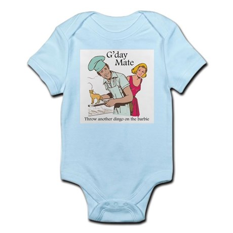 G'day Mate Dingo Infant Bodysuit