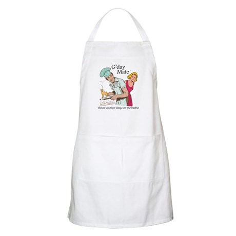 G'day Mate Dingo BBQ Apron