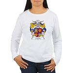 Lama Family Crest Women's Long Sleeve T-Shirt