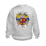 Lama Family Crest Kids Sweatshirt