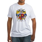 Lama Family Crest Fitted T-Shirt