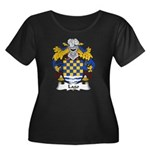 Lago Family Crest Women's Plus Size Scoop Neck Dar