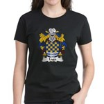 Lago Family Crest Women's Dark T-Shirt