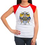 Lago Family Crest Women's Cap Sleeve T-Shirt