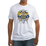 Lago Family Crest Fitted T-Shirt
