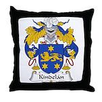 Kindelan Family Crest  Throw Pillow
