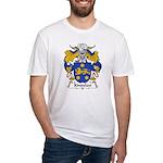 Kindelan Family Crest  Fitted T-Shirt