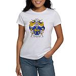 Kindelan Family Crest Women's T-Shirt