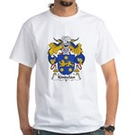 Kindelan Family Crest White T-Shirt