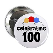 Celebrating 100 Button