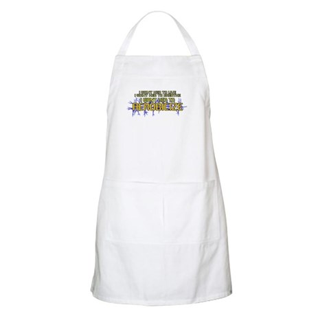 I Want Her to Aerobicize BBQ Apron
