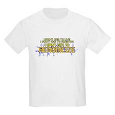 I Want Her to Aerobicize Kids Light T-Shirt