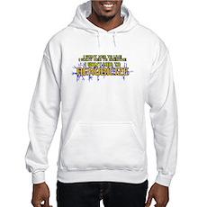 I Want Her to Aerobicize Hooded Sweatshirt