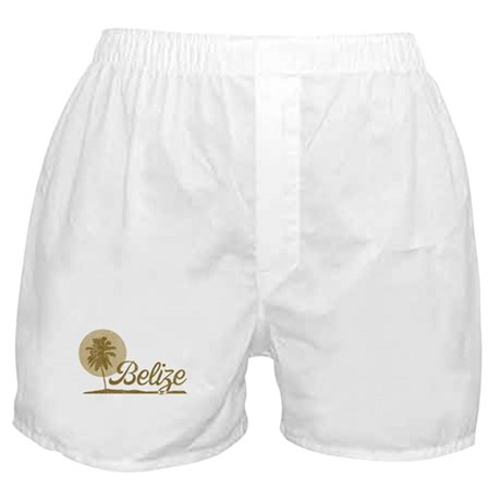 Palm Tree Belize Boxer Shorts