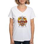 Iraola Family Crest Women's V-Neck T-Shirt