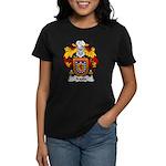 Iraola Family Crest Women's Dark T-Shirt
