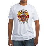 Iraola Family Crest Fitted T-Shirt