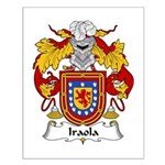 Iraola Family Crest Small Poster