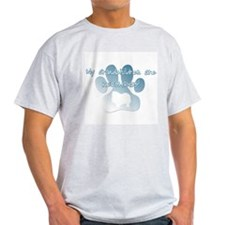 Keeshond Grandchildren T-Shirt