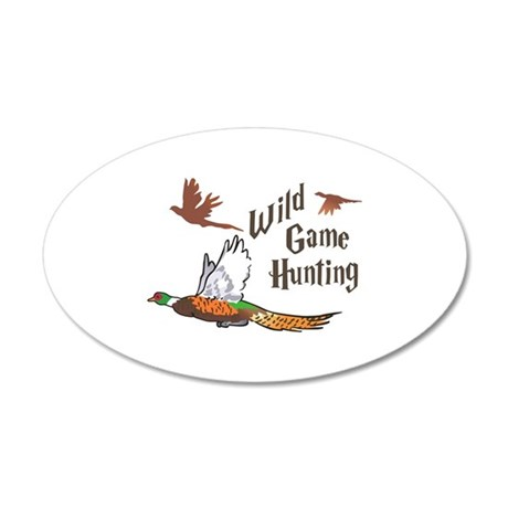 Wild Game Hunting Wall Decal