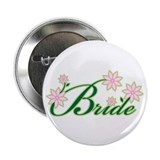 "Tropical Bride 2.25"" Button (10 pack)"