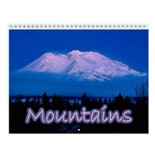 Mountains Wall Calendar