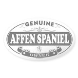 AFFEN SPANIEL Oval Decal
