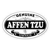 AFFEN TZU Oval Decal