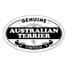 AUSTRALIAN TERRIER Oval Decal