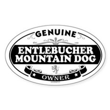 ENTLEBUCHER MOUNTAIN DOG Oval Decal